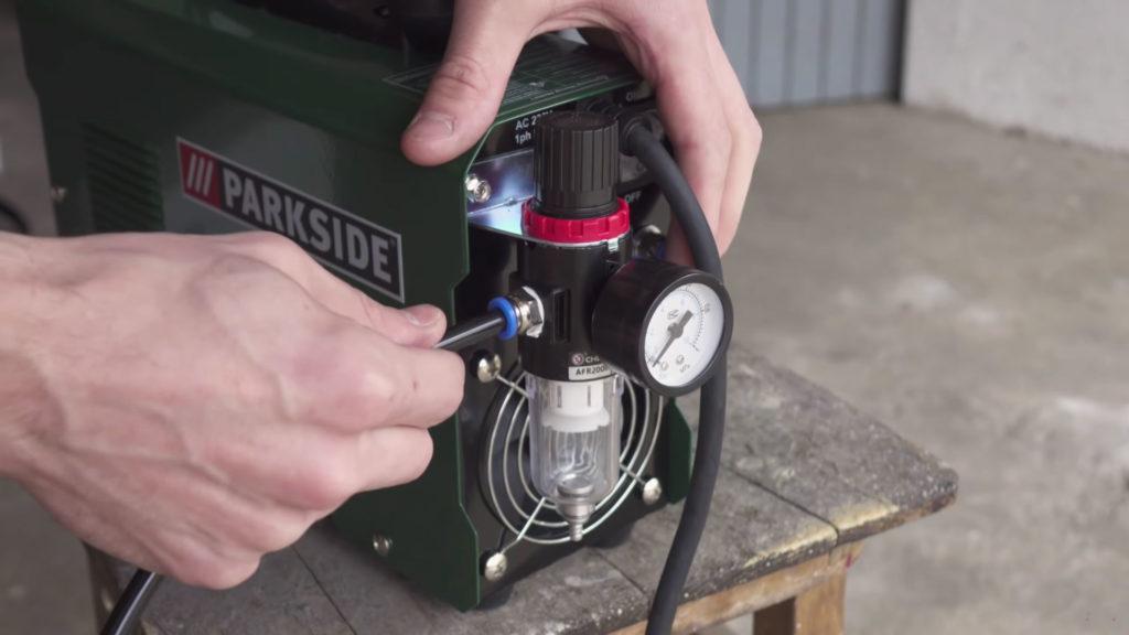 Plasma Cutter gas valve