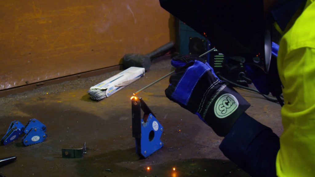 stick welding Process