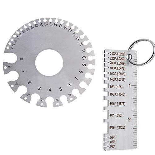 QISF Measuring Metal Gauge