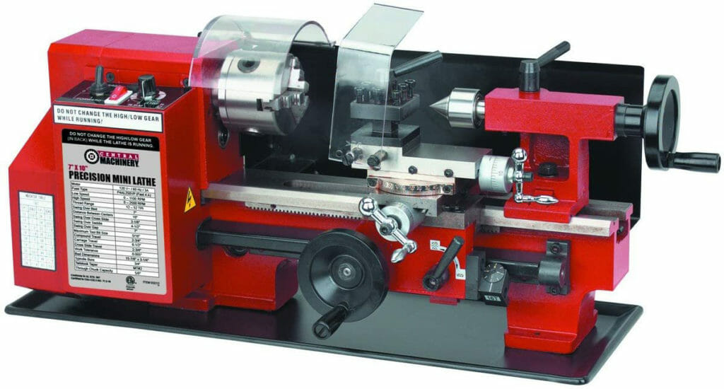 Central Machinery 7 x 10 Precision
